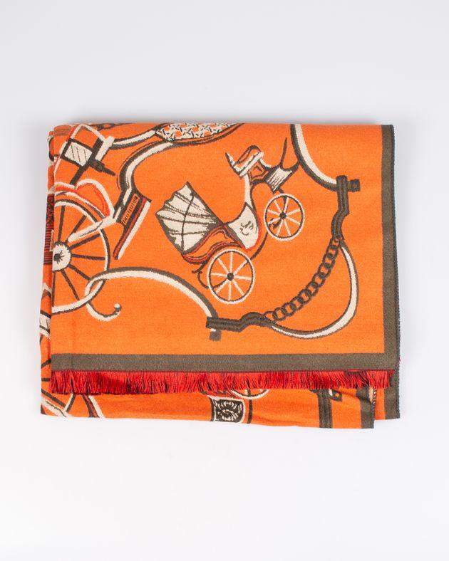 Esarfa-portocalie-cu-trasuri-M0572304014