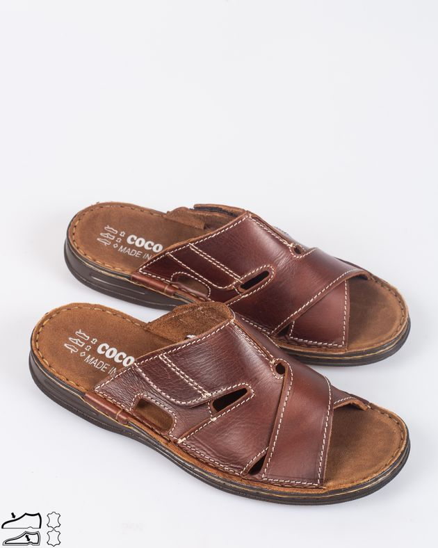 Papuci-pentru-barbati-comozi-din-piele-naturala-cu-barete-si-scai-1926201006