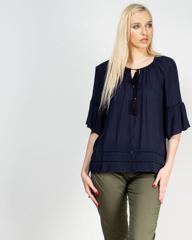 Bluza-casual-cu-maneca-clopot-si-snur-la-baza-decolteului-1928801001