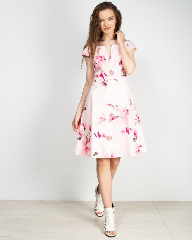 Rochie-casual-cu-imprimeu-floral-si-decolteu-1927601006