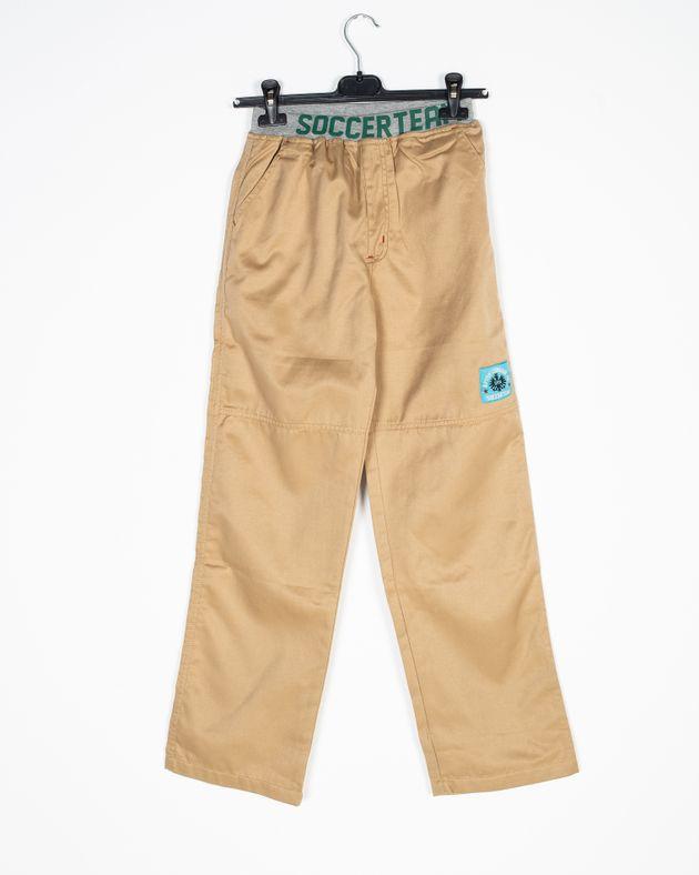 Pantaloni-fete-cu-buzunare-si-talie-elastica-N906016001