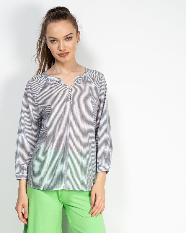 Bluza-cu-maneca-trei-sferturi-si-dungi-cu-insertii-argintii-1927601008