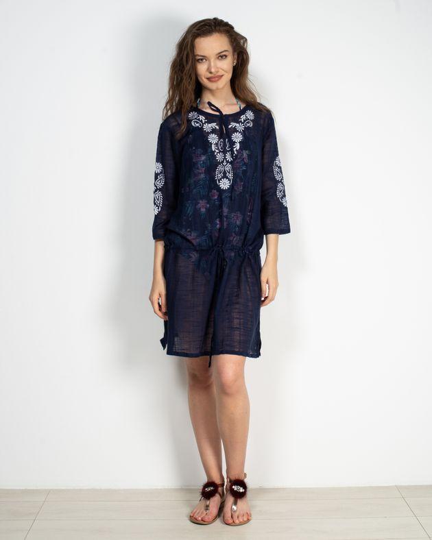 Bluza-lunga-transparenta-cu-maneca-trei-sferturi-si-imprimeu-N905020002