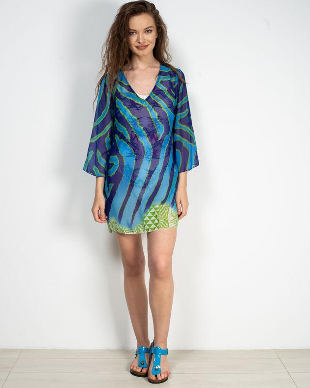 Bluza-transparenta-de-plaja-cu-imprimeu-si-maneca-trei-sferturi-N906001001