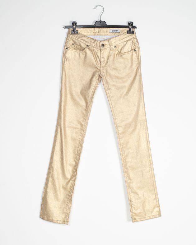 Jeans-dama-cu-buzunare-si-aspect-metalizat-1640009004