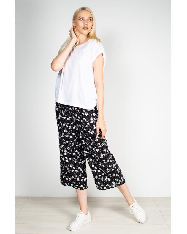 Pantaloni-trei-sferturi-vaporosi-cu-imprimeu-si-talie-elastica-1928101002