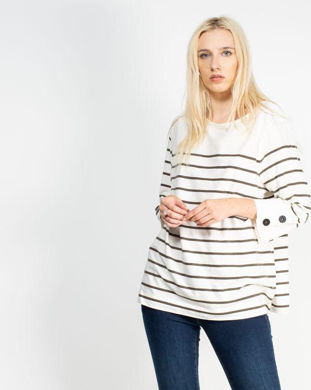 Bluza-casual-cu-maneca-trei-sferturi-N910014006