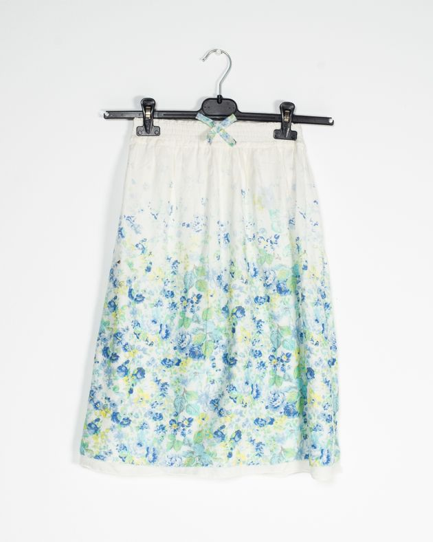 Fusta-pentru-fete-din-bumbac-cu-imprimeu-floral-si-jupa-N910021002