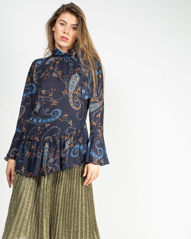 Bluza-eleganta-transparenta-cu-imprimeu-si-maneca-clopot-1935801022