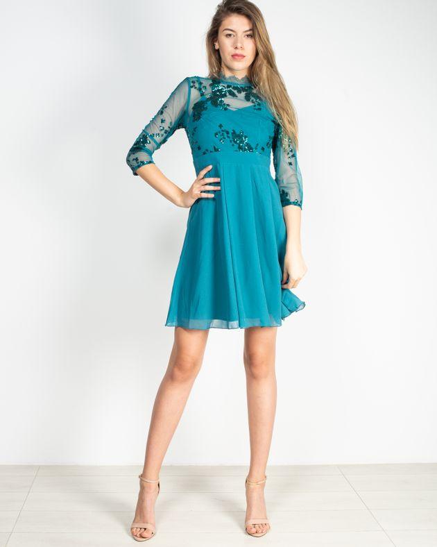 Rochie-eleganta-cu-maneca-trei-sferturi-si-paiete-aplicate-1935801043