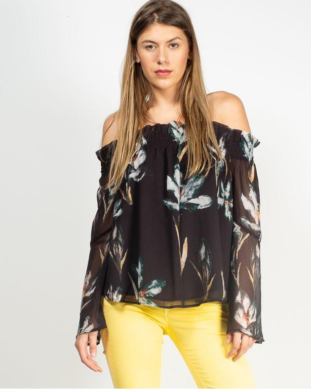 Bluza-casual-cu-elastic-si-imprimeu-floral-1935801098