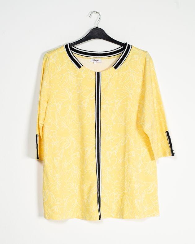 Bluza-casual-cu-imprimeu-si-maneca-trei-sferturi-1924658001