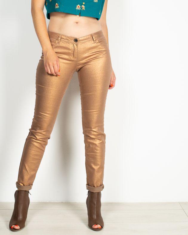 Pantaloni-casual-cu-buzunare-si-aspect-metalizat-1935601004