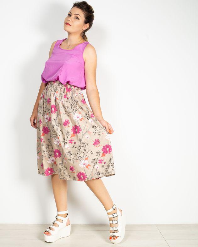 Fusta-din-bumbac-cu-imprimeu-floral-N912044002