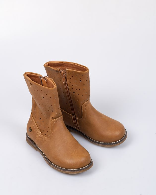 Ghete-pentru-fete-cu-model-perforat-si-fermoar-lateral-1934804009