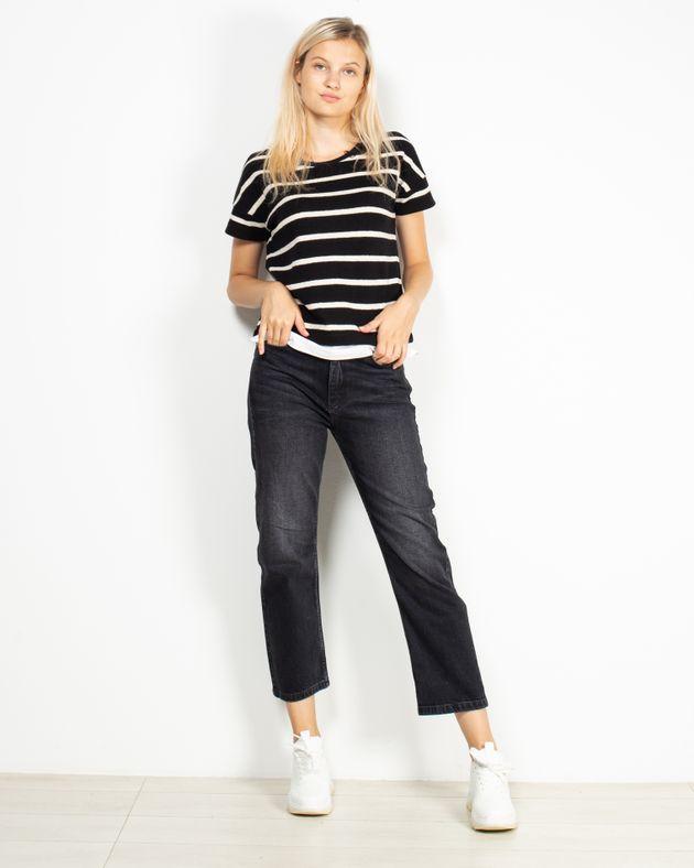 Jeans-din-bumbac-cu-buzunare-si-talie-inalta-1940306002