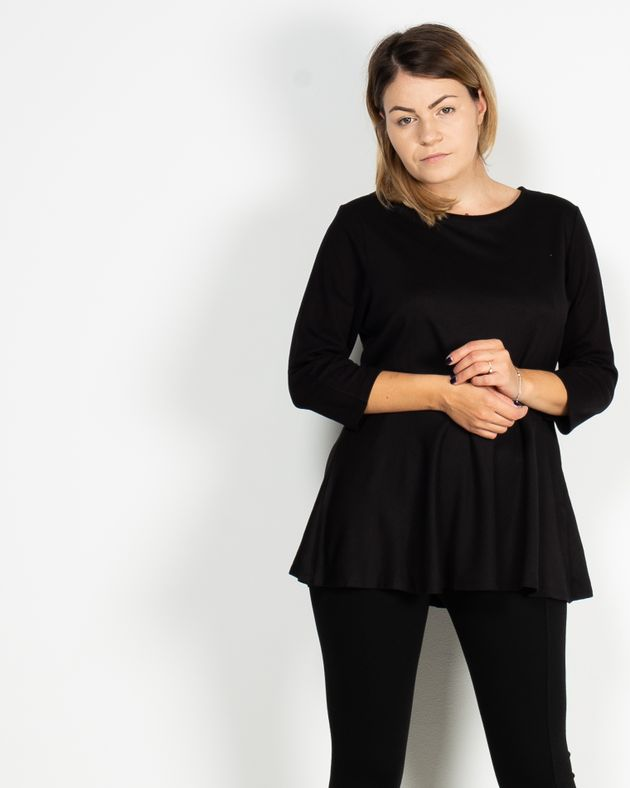 Bluza-casual-cu-maneca-trei-sferturi-1940454001