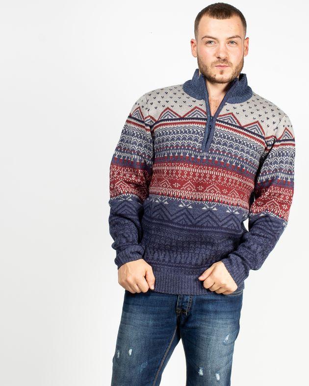 Pulover-tricotat-cu-imprimeu-si-guler-cu-fermoar--1942603001
