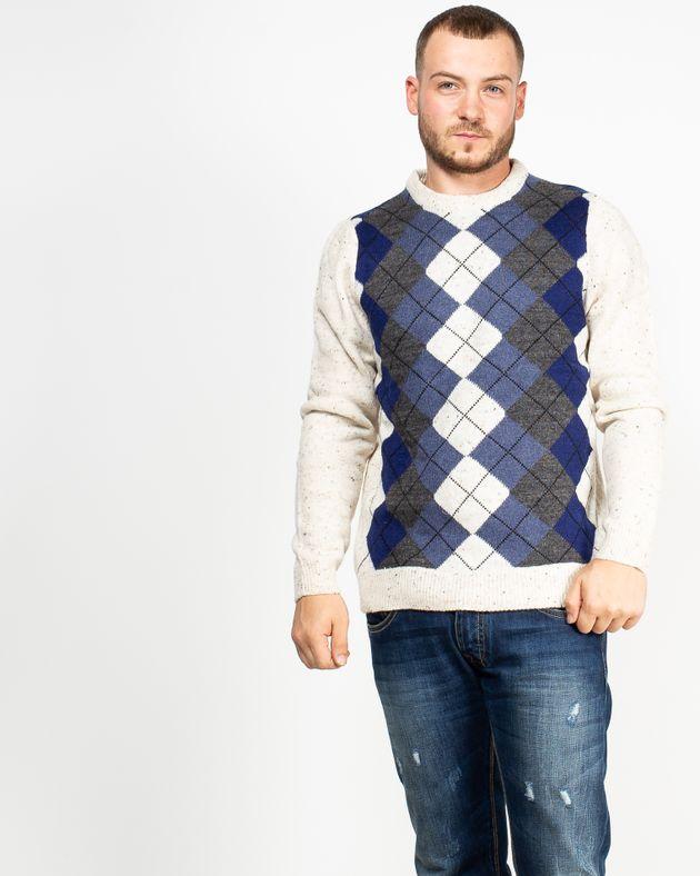 Pulover-tricotat-cu-maneca-lunga-si-imprimeu-1942603004