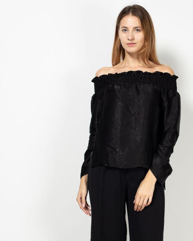 Bluza-casual-cu-elastic-si-maneci-ajustabile-1935802241