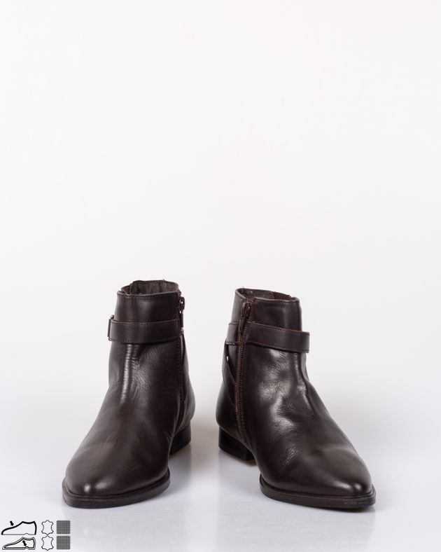 Ghete-dama-din-piele-naturala-cu-fermoar-lateral-cu-elastec-la-glezna-si-catarama-1952503004