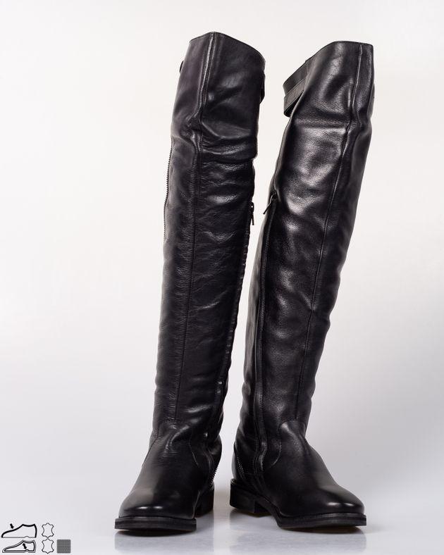 Cizme-inalte-din-piele-naturala-cu-fermoar-si-bareta-cu-catarama-N915001007