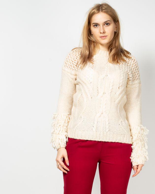 Pulover-tricotat-cu-maneca-lunga-si-franjuri-19503B6001