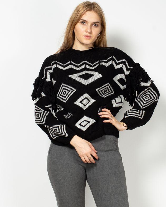 Pulover-tricotat-cu-guler-rotund-si-model-aztec-19503C5001