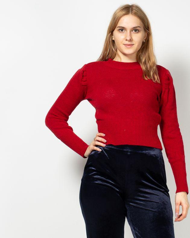 Pulover-tricotat-cu-decolteu-rotund-1950405027