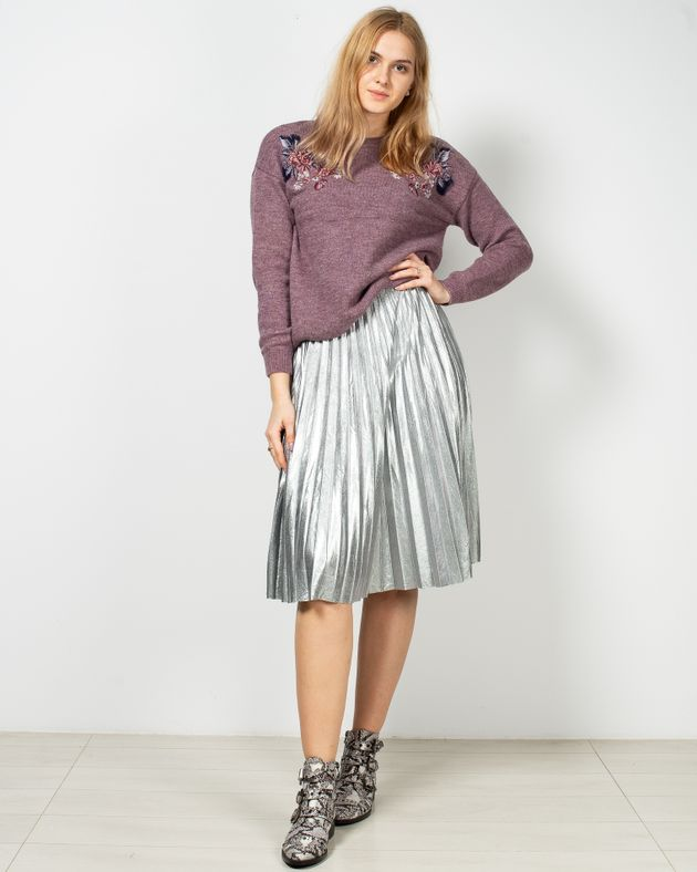 Fusta-plisata-cu-aspect-metalizat-si-talie-elastica-1950516001