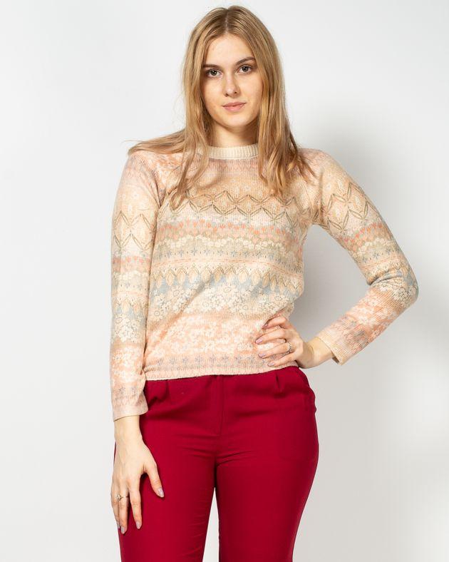 Pulover-tricotat-cu-guler-rotund-si-model-aztec-1950405018