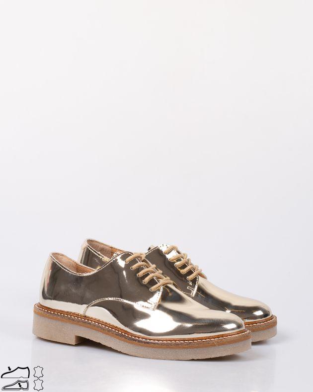 Pantofi-din-piele-naturala-cu-sireturi-si-aspect-metalizat-1930302008