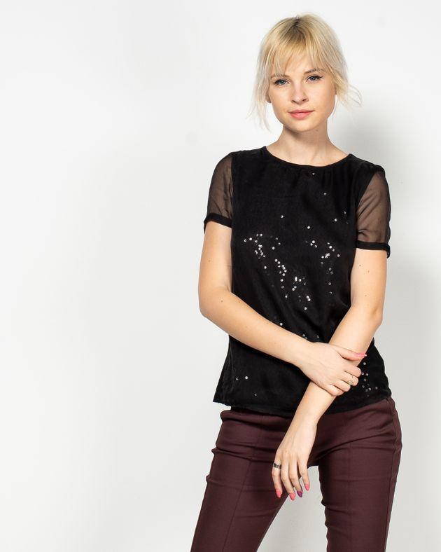 Bluza-transparenta-cu-maneca-scurta-si-paiete-aplicate-1947802031