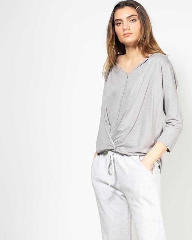 Bluza-casual-cu-decolteu-si-nasturi-N91802010