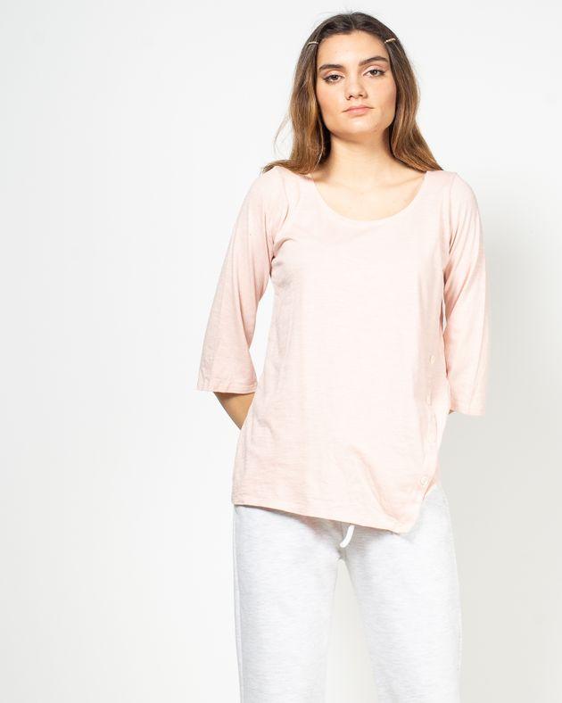 Bluza-casual-cu-maneca-trei-sferturi-si-nasturi-N91802012