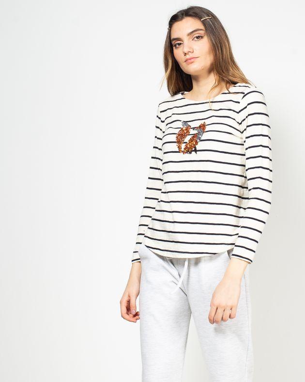 Bluza-casual-in-dungi-cu-paiete-aplicate-N91802024