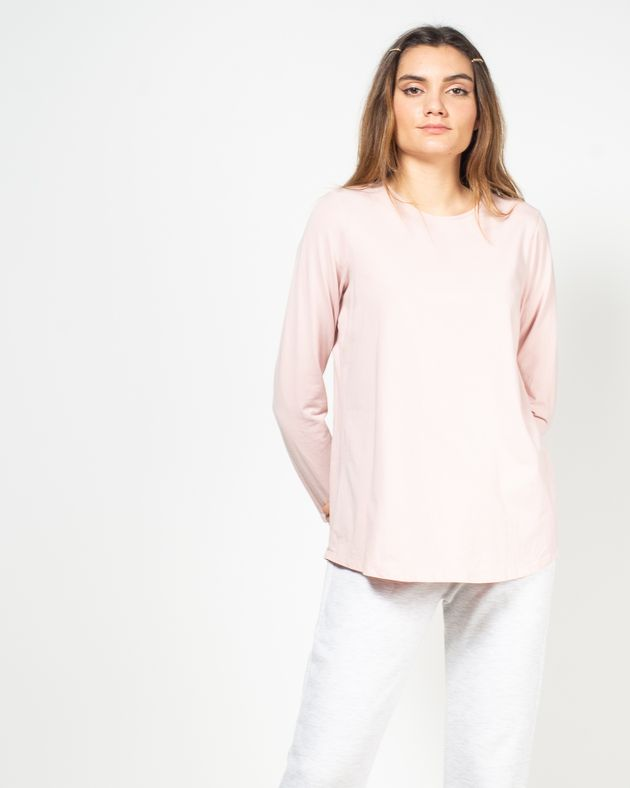 Bluza-monocromatica-cu-maneca-lunga-N91802025