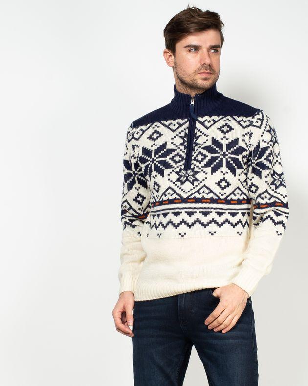 Pulover-tricotat-cu-model-aztec-si-guler-1955803005