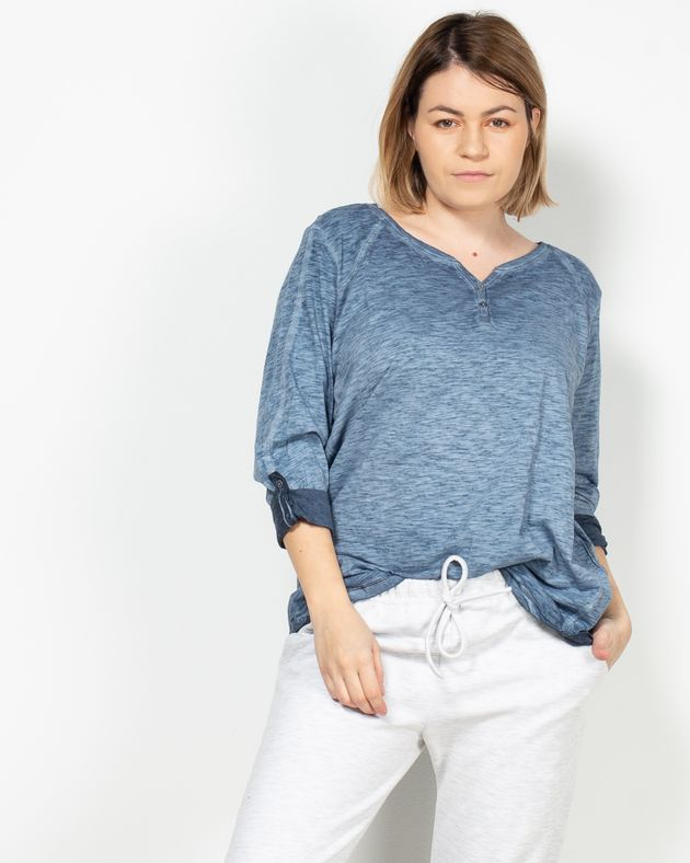 Bluza-casual-cu-maneca-trei-sferturi-1946901001