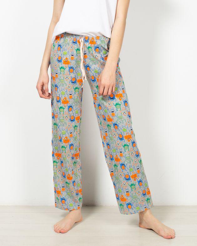 Pantaloni-de-pijama-din-bumbac-cu-imprimeu-1956558004
