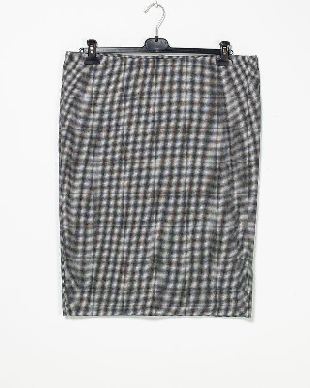 Fusta-casual-din-bumbac-cu-imprimeu-si-talie-elastica-1955450001