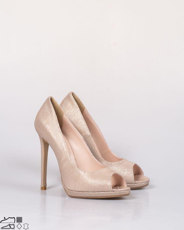 Pantofi-Adams-aurii-cu-toc-inalt-si-brant-din-piele-2007227001