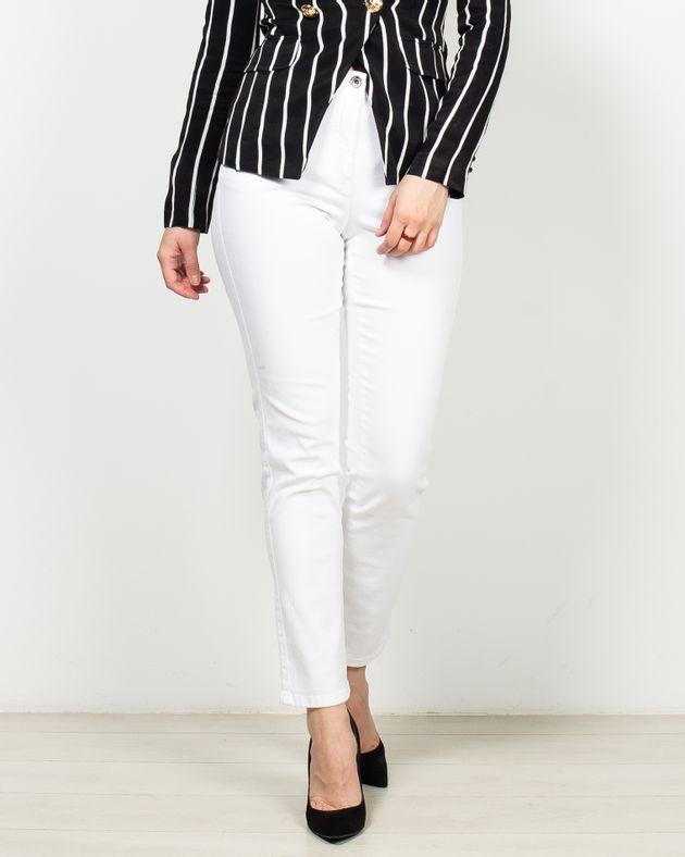 Jeans-casual-cu-buzunare-si-talie-elastica-2007501015