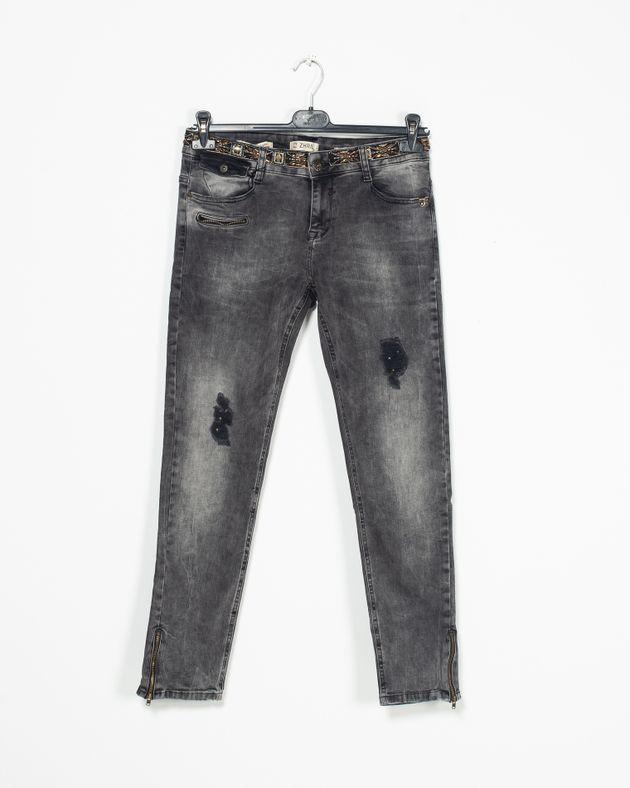 Jeans-casual-cu-buzunare-si-paiete--aplicate-in-talie-2007501024