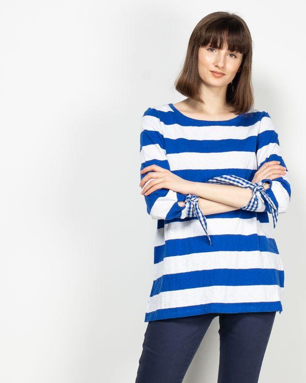 Bluza-in-dungi-cu-maneca-trei-sferturi-N913015010