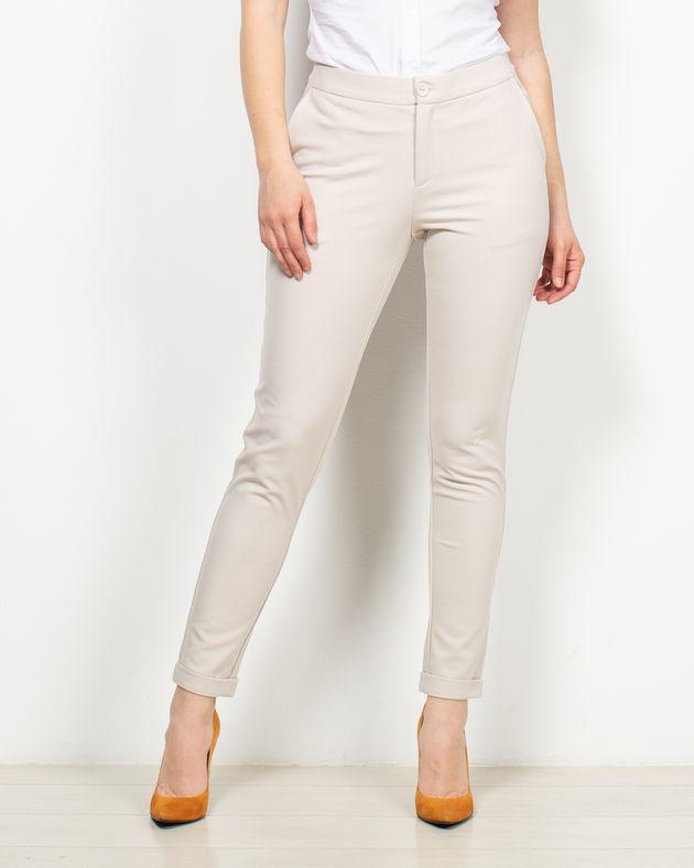 Pantaloni-office-cu-buzunare-si-talie-elastica--2007507075