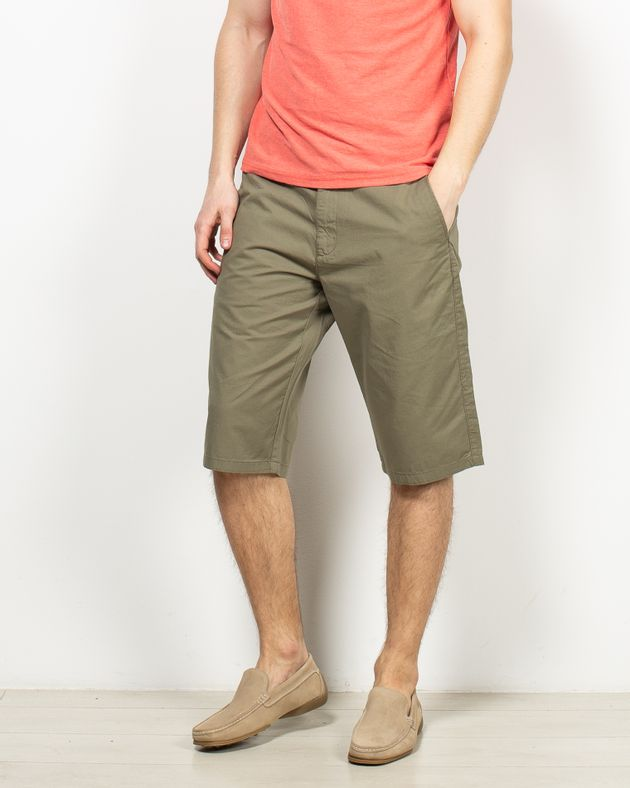 Pantaloni-trei-sferturi-casual-din-bumbac-cu-buzunare-1956709001
