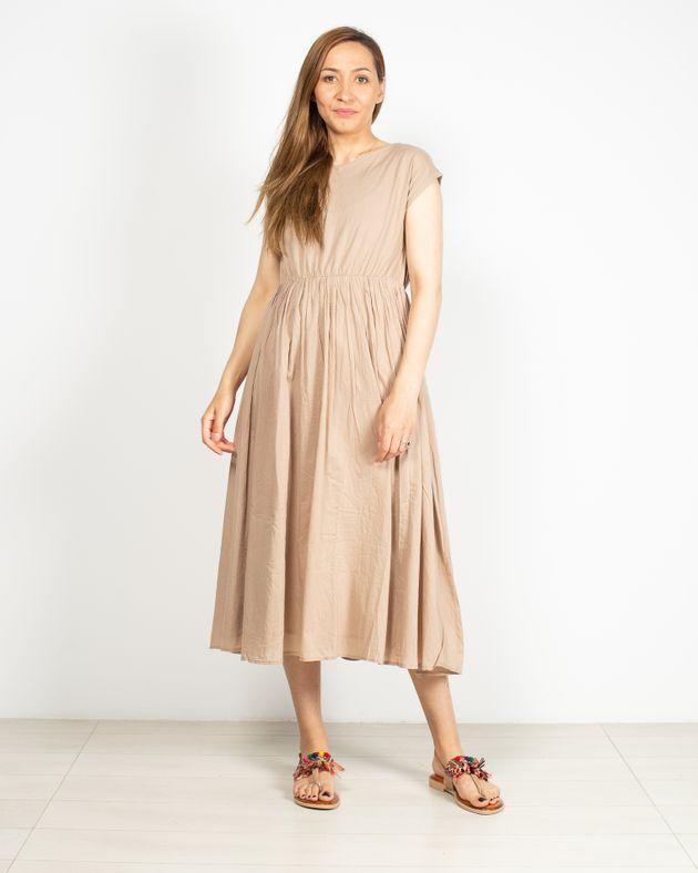 Rochie-casual-fara-maneci-cu-elastic-in-talie-N91903010