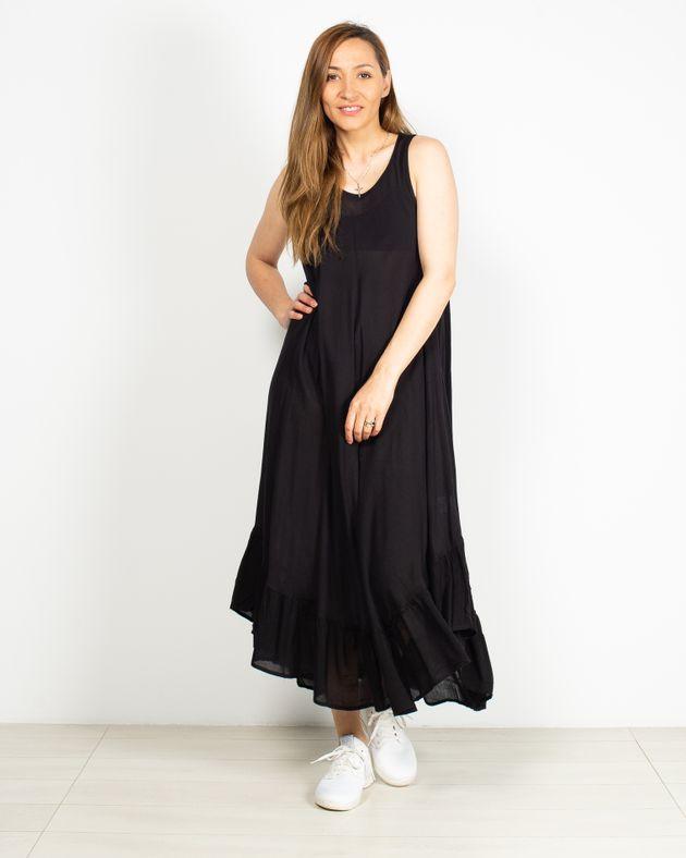 Rochie-lunga-oversize-cu-decolteu-rotund-N91903020