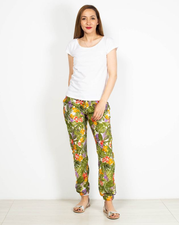 Pantaloni-casual-cu-buzunare-si-imprimeu-floral-2006501027